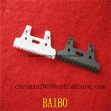 Blanco y negro de cerámica de ZRO2 cuchilla cortadora con corte de pelo y el afeitado