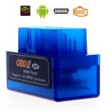 Hongjun Mini herramienta de diagnóstico OBD2 Bluetooth Elm 327 Auto escáner