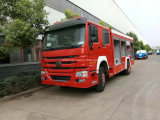 4X2 de Vrachtwagen van de Brand van Sinotruk, het Uitwerpen van de Motor van de Brand, De Vrachtwagen van de Brandbestrijding