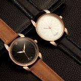 Neuer Mann-Geschäfts-Uhr-Vertrags-Vorwahlknopf-leuchtende Armbanduhr-Großhandelspreis-Uhr des Entwurfs-H353