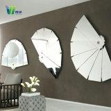 Super mince réfléchissant miroir en verre décoratif pour la maison
