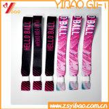 Выдвиженческий сплетенный браслет ткани для деятельности (YB-LY-WR-16)