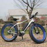26*4.0インチの脂肪質のタイヤ中間駆動機構の電気自転車