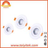 LED rondes et carrées éclairage du panneau de plafond pour lampe eclairage LED