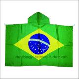 De Vlag van het Lichaam van de Ventilator van het voetbal met Hoed