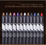 Gefärbte die PROschönheits-Augen-Zwischenlage zeichnet Augenschminke-Verfassungeyeliner-Lippenzwischenlage-Feder an