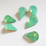 Teardrop-fantastischer Kristallstein mit Greifer für Schmucksachen