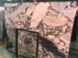 Lastre di marmo viola della Cina Calacatta per le mattonelle ed il controsoffitto