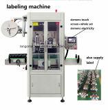 Verre de jus de automatique rond Carré bouteille rétrécir l'étiquetage de la machine de manchon
