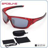 Pesca Unbreakable vermelha de néon do frame da forma nova que conduz o softball do golfe que caminha óculos de sol
