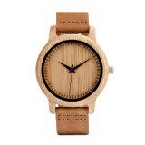 유행 숙녀 손목 시계 남자 대나무 목제 시계