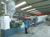 HDPE PUの熱絶縁のジャケットの管の生産ライン
