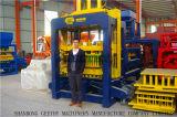 Qt10-15 de Stationaire Concrete Machine van de Baksteen van het Cement Holle