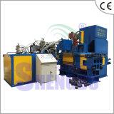 Residuos automática máquina bloquera Chips de acero inoxidable
