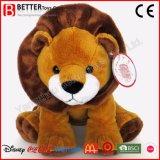 La coutume des jouets en peluche animal en peluche Lion doux pour les enfants