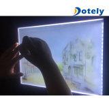 Voyant LED ultra-léger de copie de traçage de l'animation du Conseil de pochoirs de dessin