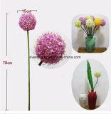 O Lilac artificial do ramalhete artificial do casamento de Canadá do Hydrangea da ameixa floresce o Hydrangea artificial do verde de cal