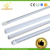 도매 방수 점화 T5 T8 18W 유리제 형광성 LED 관