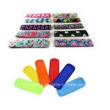 Kid réutilisables de motifs colorés de la glace en néoprène Pop sac du refroidisseur