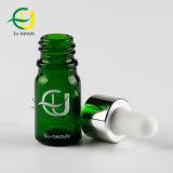 化粧品のための5ml緑ガラスの精油のびん