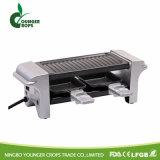 Griglia elettrica del BBQ con il POT caldo