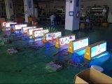 Sinal video do indicador do anúncio de tela do diodo emissor de luz do telhado do táxi da cor cheia da promoção P5 da fábrica