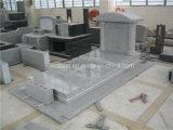 Monumento grigio-chiaro del cristiano del granito G603