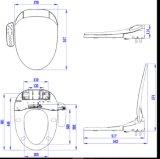 Aquecimento inteligente automática & Bidé assento do vaso com medidas sanitárias de bolachas e biscoitos
