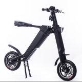 Certification Ce vélo électrique pliant 12 pouces, 250 W RABATTEMENT AUTOMATIQUE Ebike