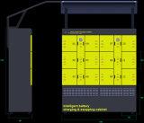 De slimme Post van het Ruilmiddel van de Batterij voor Elektrische Autoped 2 Gereden Voertuigen