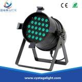 Het LEIDENE RGBW van de Prijs 24X10W van de fabriek 4in1 MiniPARI kan voor de Projector van de Partij van de Disco van het Stadium aansteken