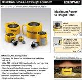 RsmかRcsシリーズの油圧低い高さシリンダーEnerpac