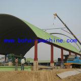 [به1000-750] بناء من فولاذ قوس سقف مشروع آلة