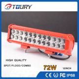 Barre tous terrains d'éclairage LED de rangée de double de lumière de travail du CREE DEL Autolamp