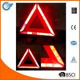 Треугольник безопасности проезжей части отражательный непредвиденный предупреждающий для автомобиля