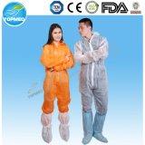 처분할 수 있는 색칠 작업복, Lighweight 작업복, 두건이 있는 작업복