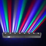 Bewegliches Hauptlicht des LED-bewegliches Lichtstrahl-Stab-Ms-B8