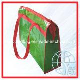 Sacos de portador tecidos PP do Zipper (ENV-PVB027)