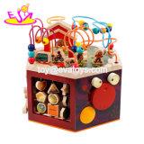 Новая конструкция шесть односторонние большие деревянные образования деятельности Cube игрушка для детей W11b160