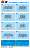 Dissipatore di calore di alluminio di profilo per l'alimentazione elettrica di commutazione