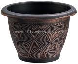 金属の質の螺線形の鍋(KD7301S-KD7305S)