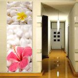 3 Panneaux d'art murale Peinture à l'huile Fleurs Peinture Décoration à la maison Impression sur toile Photos pour le salon Encadré Art Mc-263
