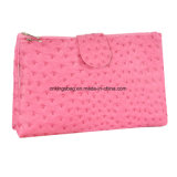Beutel der Strauß-Muster PU Dame-Promotion Makeup Bags Cosmetics