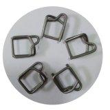 編まれる金属PPのコード紐で縛るワイヤーバックル32X7.0mm (GT-BZ-70)を