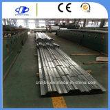 Hoja galvanizada sumergida caliente del Decking del suelo de acero