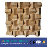 Diseño del panel acústico, el panel de pared acústico del difusor 3D