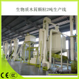 Zhangqiu 700kg/h Ligne de granulés de bois de décisions Skj450-2