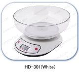 白い電子台所スケール(TY-301)
