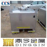 Armazenamento de aço Grade-Stainless alimentar GRG para o leite do tanque de líquido