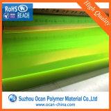 Hoja rígida transparente coloreada del PVC, hoja coloreada imprimible del PVC
